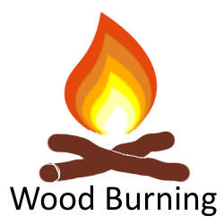 Designed to burn wood